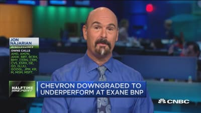 Call of the day: Chevron downgraded to 'sell'