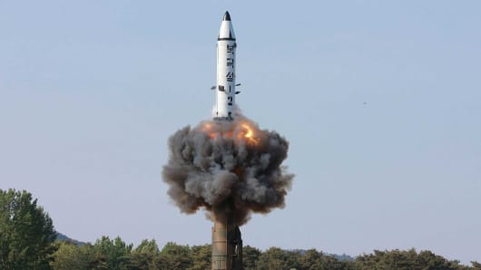 DPRK top leader supervises test-firing of anti-aircraft guided weapon system