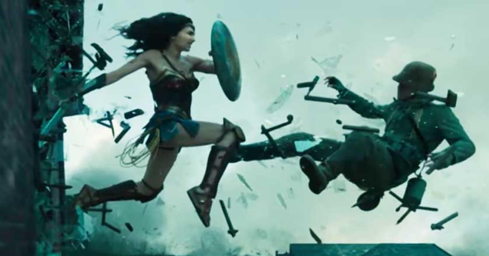 wonder woman set to break the superhero movie mold