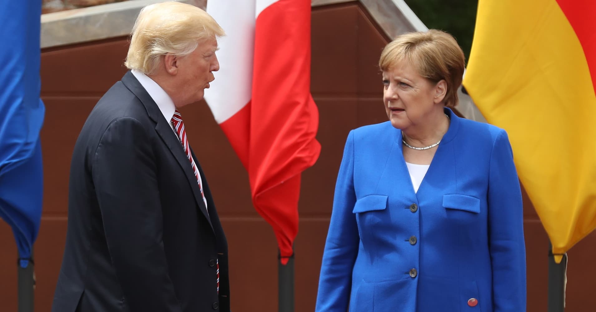 White House denies Trump threatened German automakers
