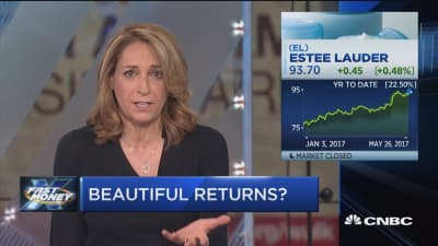 Bet on beauty stocks?