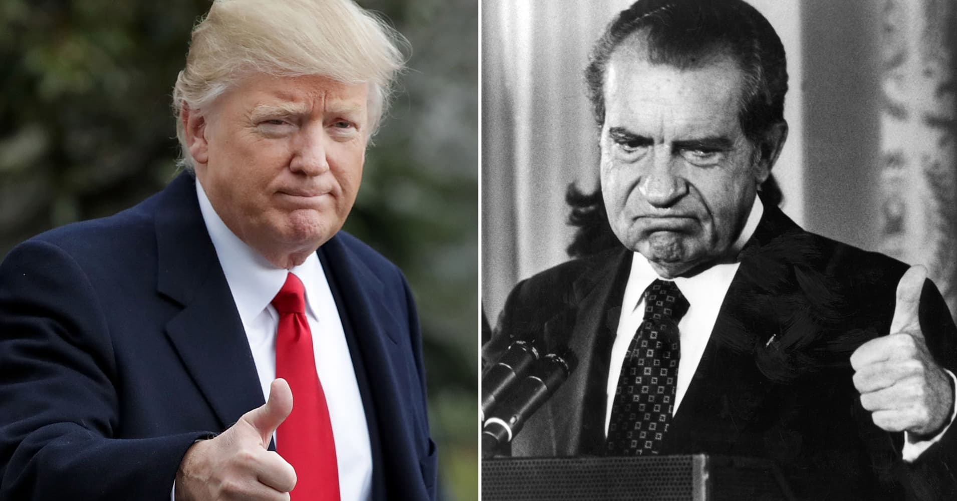 Op-Ed: Pulitzer Prize-winning reporter who covered Nixon compares Trump's troubles with Watergate