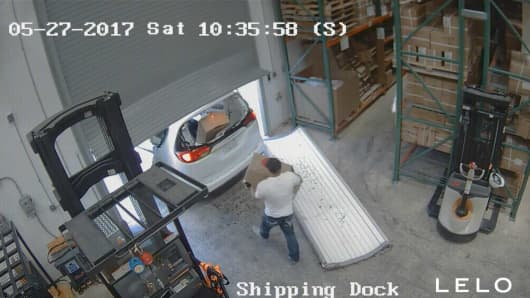 Sex product maker's Las Vegas warehouse burglarized twice over holiday weekend
