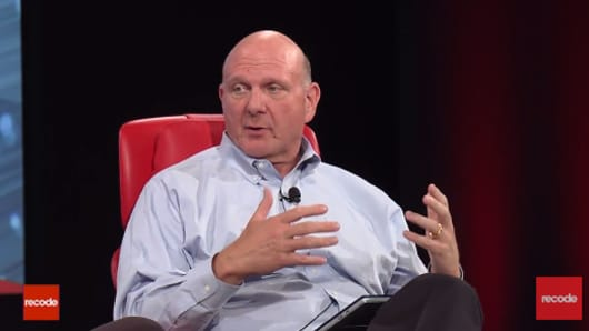 Why Microsoft could not improve its hardware capabilities under Steve Ballmer