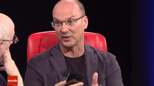 One Time Use: Andy Rubin Code Con