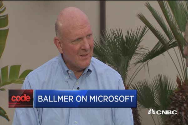 Steve Ballmer: It was a great decision for me to separate from Microsoft