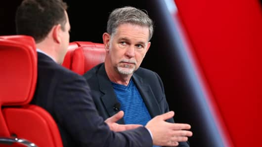 Netflix co-founder thinks Amazon is impressive but also