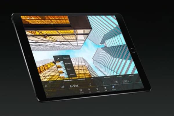 iPad Pro at the WWDC 2017 in San Jose.