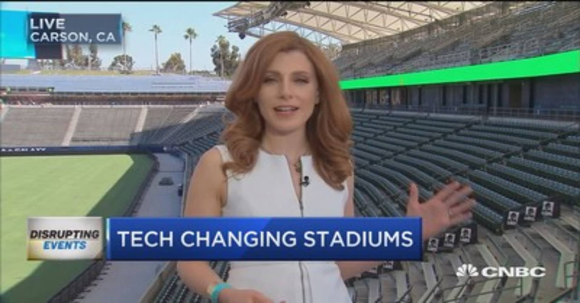 Smart stadiums are giving ticket-holders a worthwhile experience