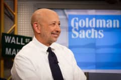 Goldman Sachs' Lloyd Blankfein just threw some serious Brexit shade