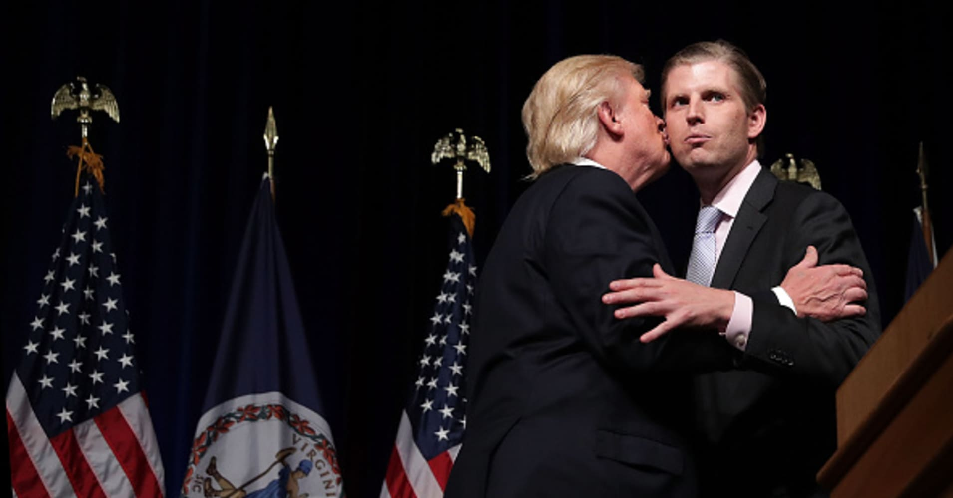 Trump reportedly directed Michael Cohen, Eric Trump to keep Stormy Daniels from talking to the media