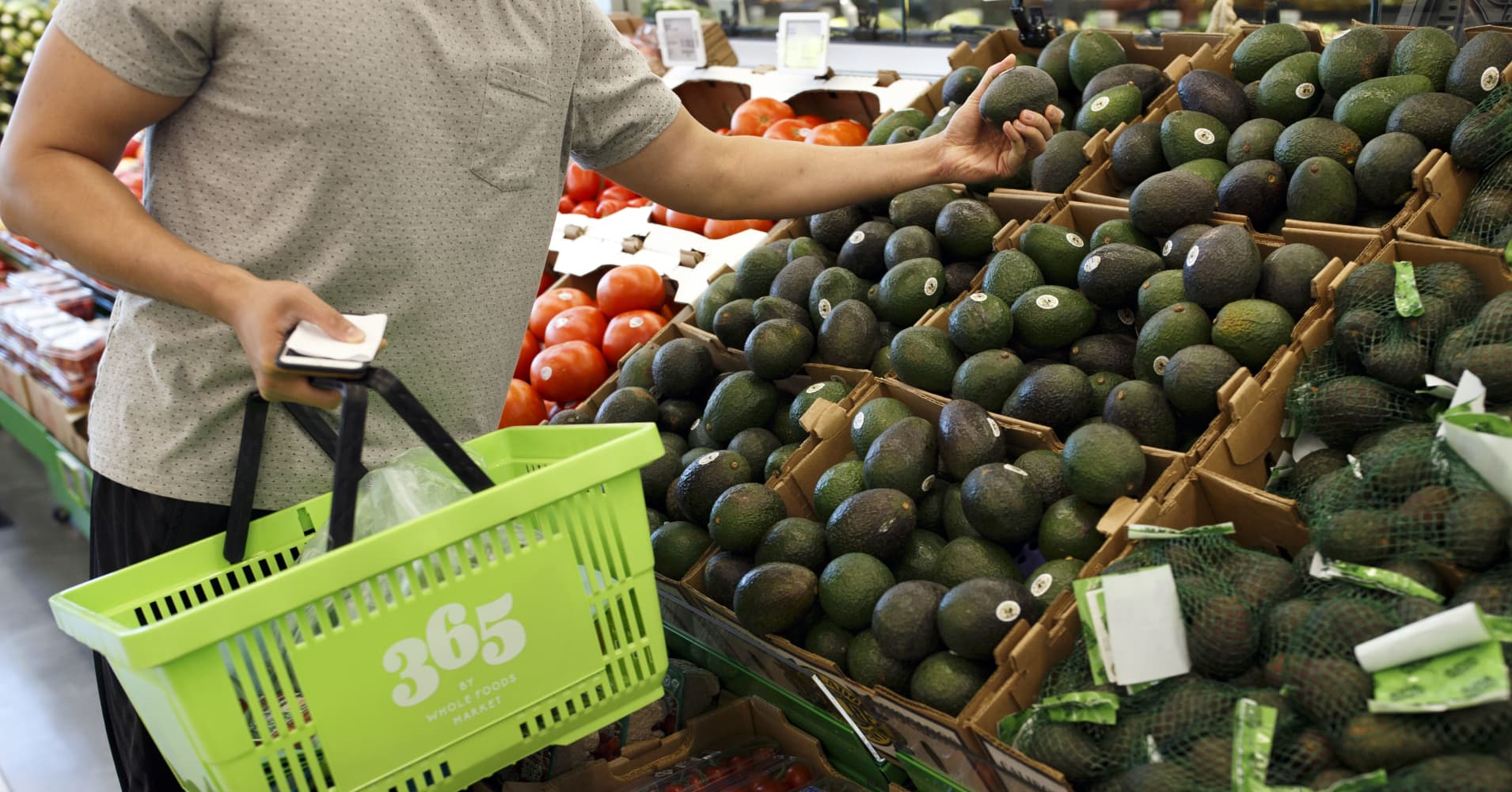 A Customer Browses Avocados At Whole Foods Market 365 Location In Santa Monica California