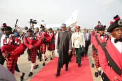 Nigeria's President Buhari slams calls from militants to split country