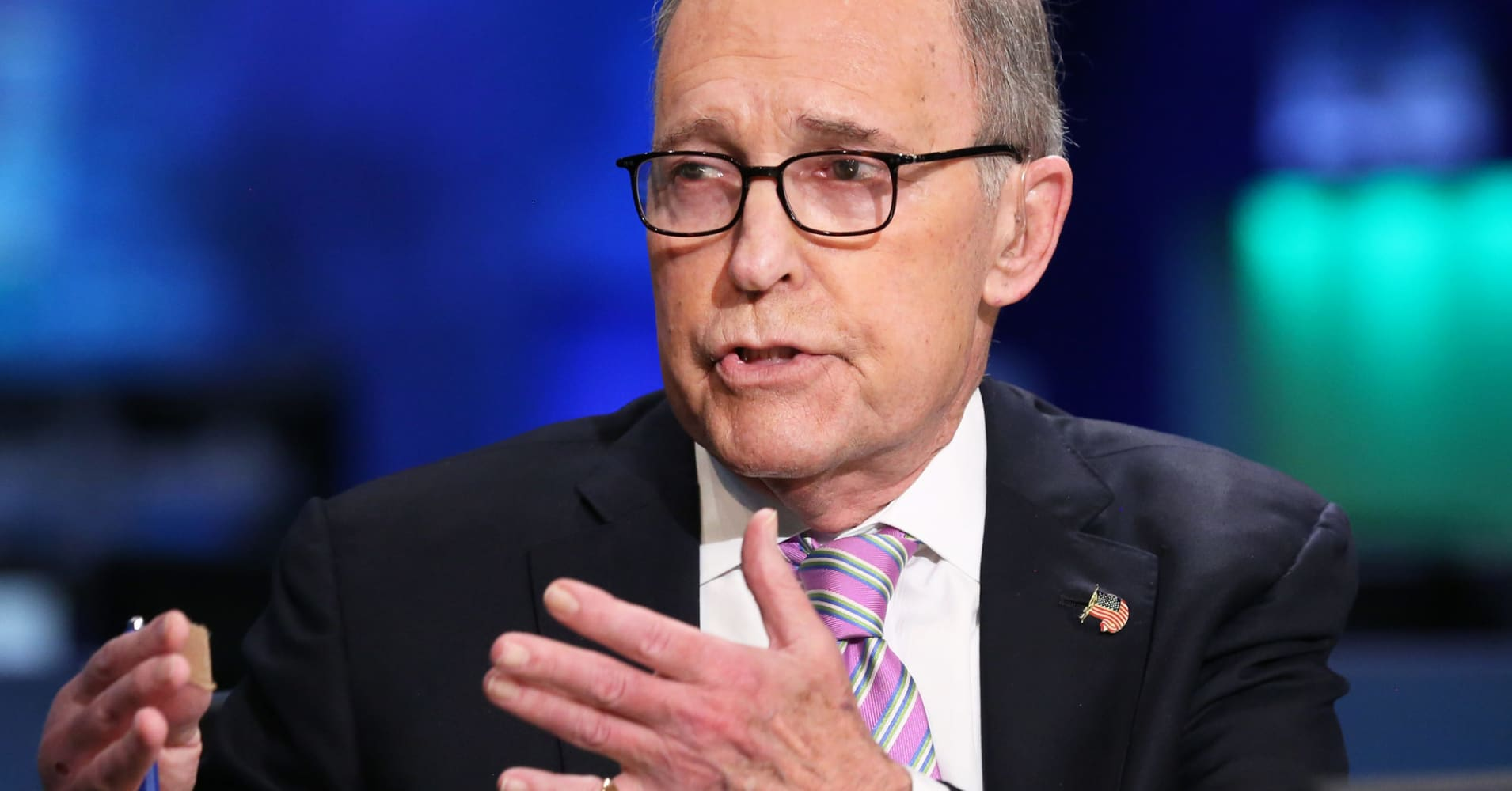 White House economic advisor Kudlow says trade deal with Mexico is 'getting close'