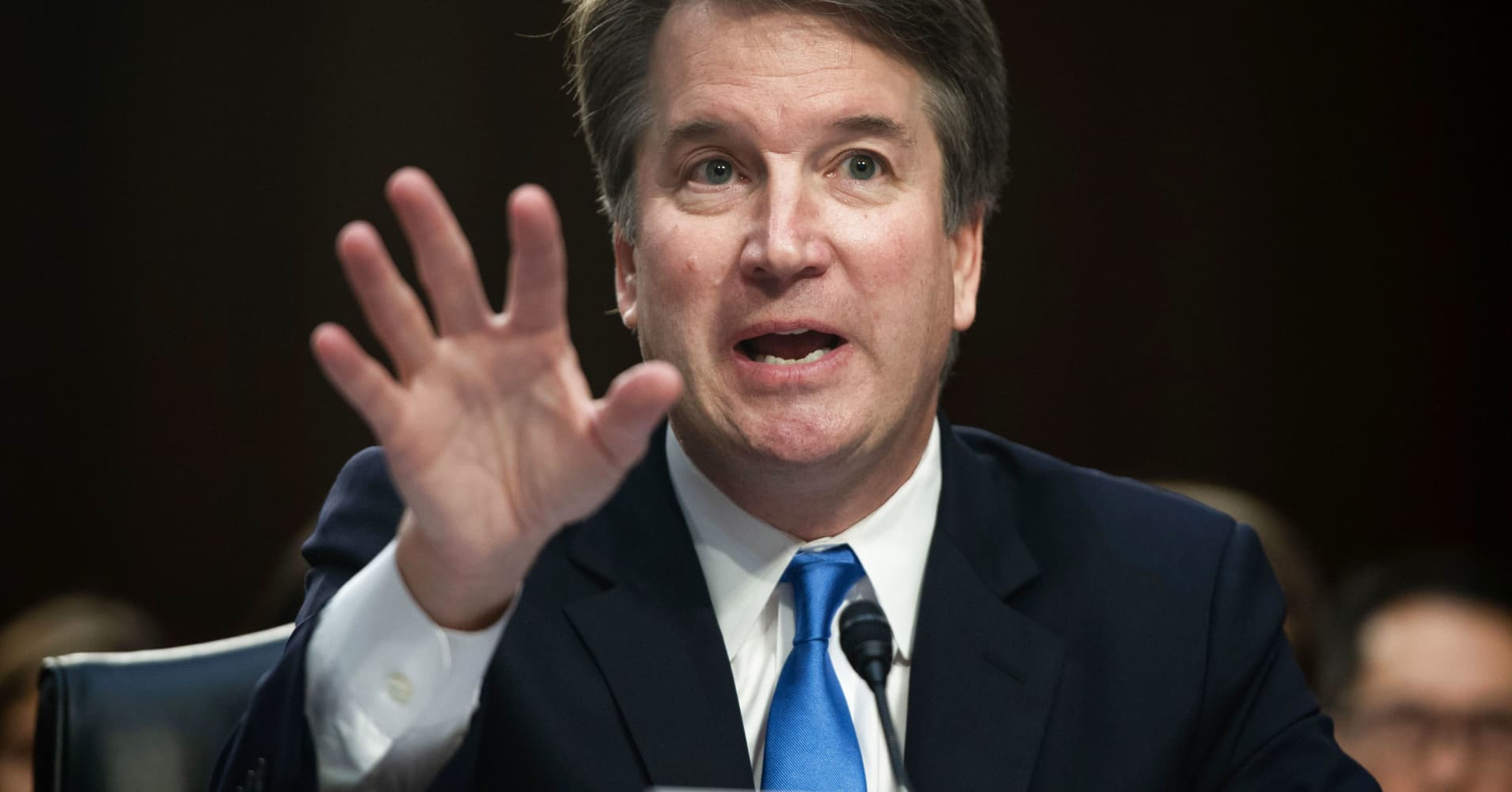 Republicans credit the 'Kavanaugh Effect' for Senate wins against red-state Democrats