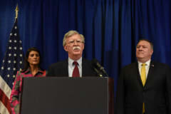 John Bolton is set to warn Iran's clerics: 'There will be hell to pay'