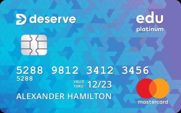 Best for College Students: Deserve Edu Mastercard