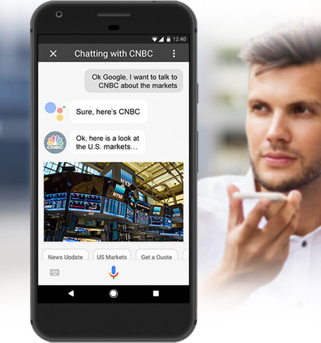 Google Finance Stock Market Quotes News: CNBC Digital Products
