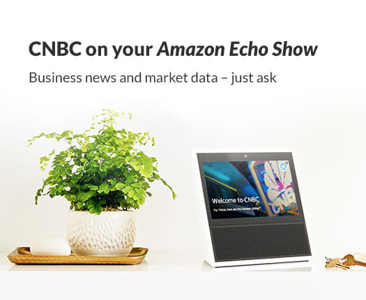 CNBC on your Amazon Echo Show