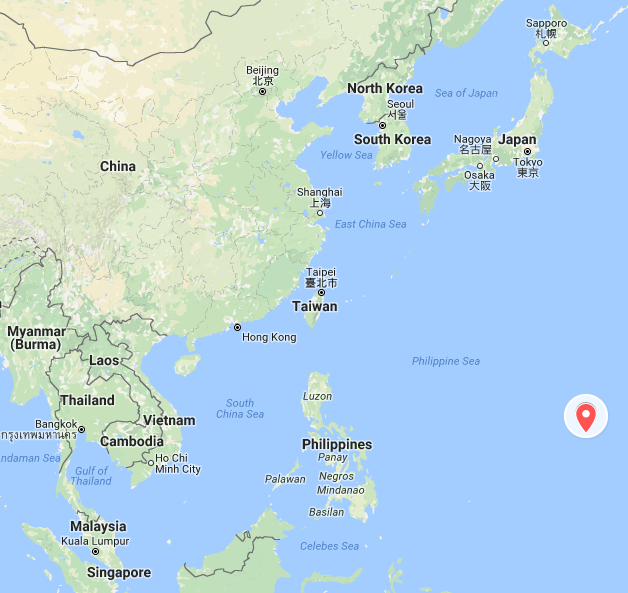 North korea crisis trump warns kim jong un but us lacks good options guam is far removed from the us mainland credit google maps gumiabroncs Images