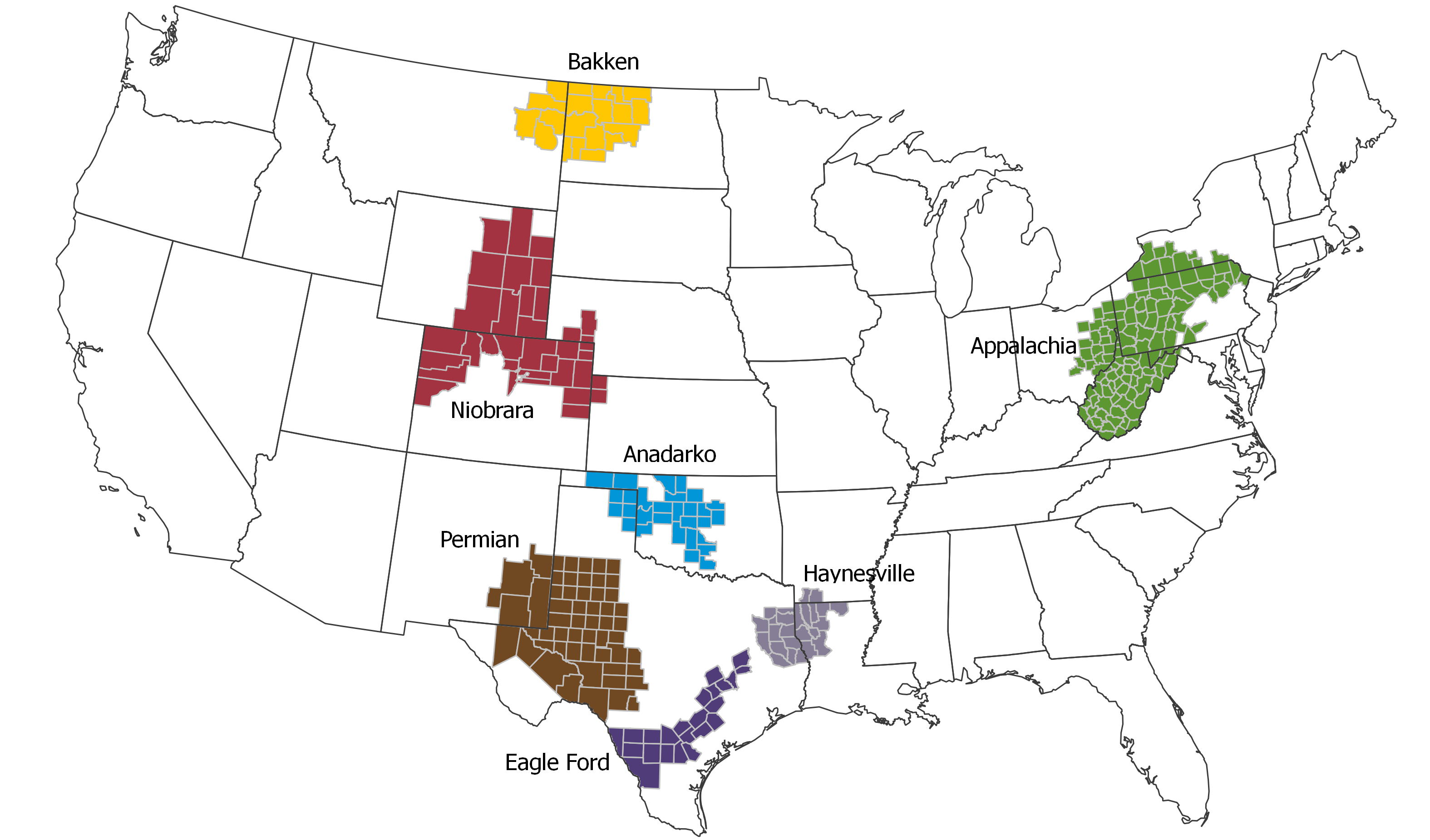 Us shale oil drilling poised to surge in february production from north dakotas bakken shale is set to grow by 8000 barrels a day while output from the niobrara shale underlying colorado and neighboring sciox Choice Image
