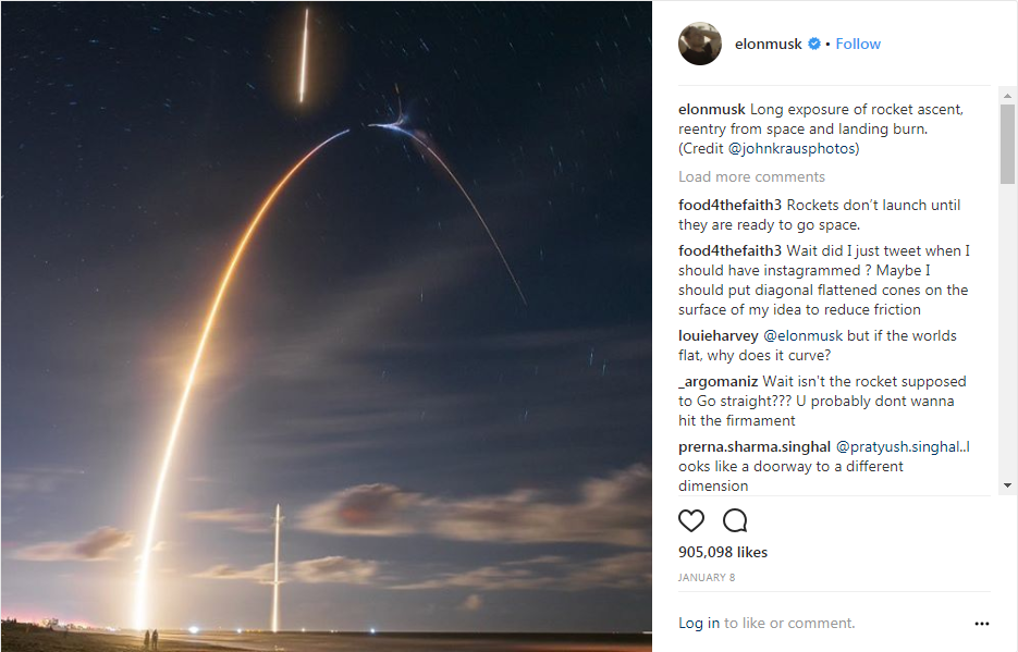 The four rocket photographers whose work has been seen by millions – in part thanks to Elon Musk