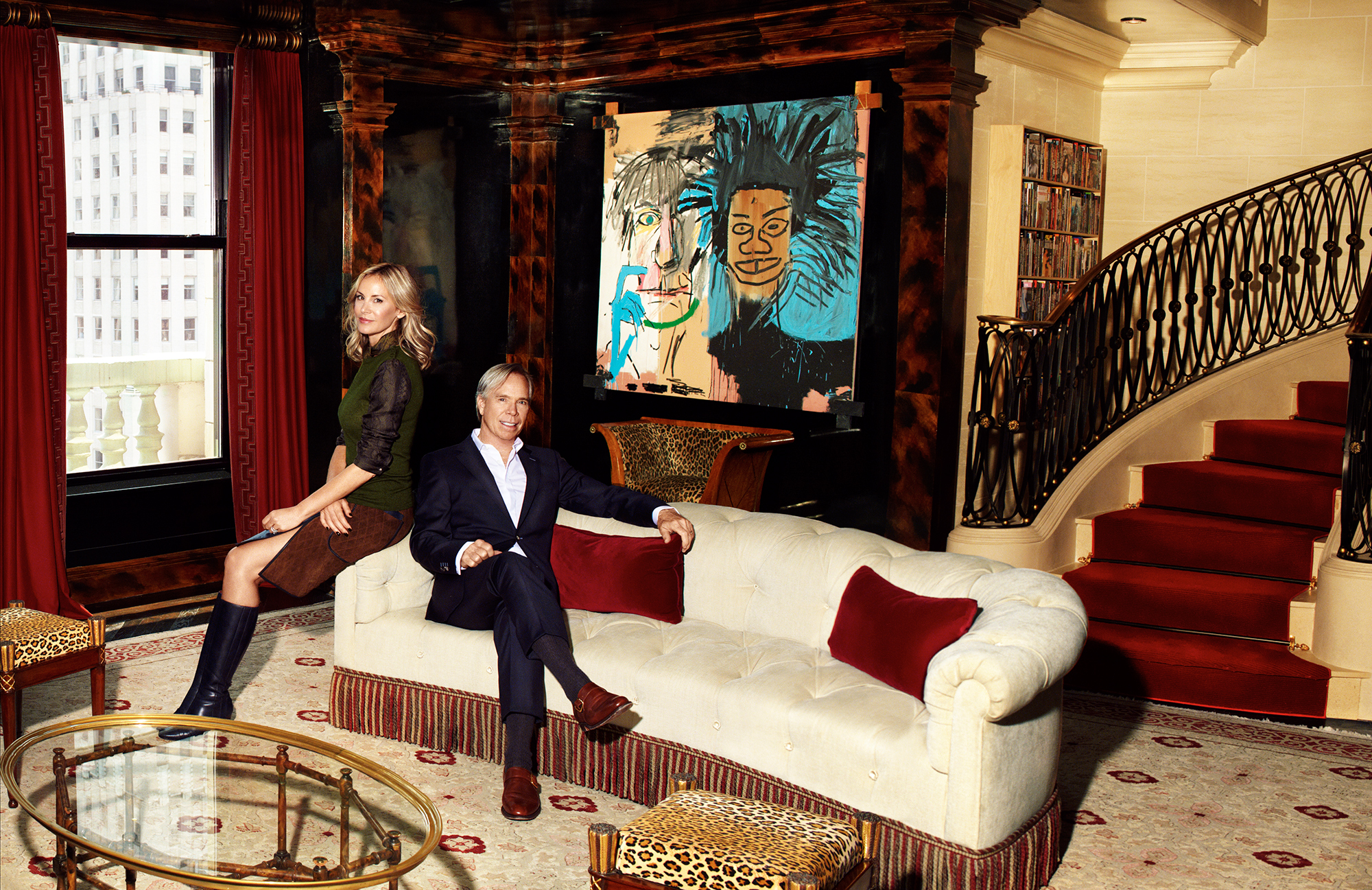 Fifth Avenue Home Decor Tommy Hilfiger Lists His 80 Million Penthouse At The
