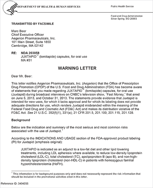 how to write a warning letter for non performance clause