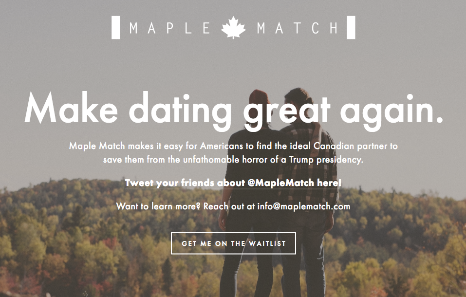maple dating site