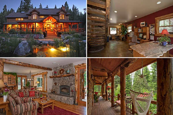 Cnbc Luxurious Log Cabins Truckee Desirable Start Ups Work Germany