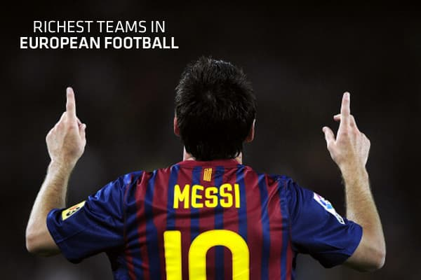 As the European soccer season gets underway in August, the best teams in the world will not only be competing for the accolades that come with trophy success, but also for the financial rewards it brings.As champions of Europe, Barcelona are the undisputed kings of the pitch, but rivals Real Madrid topped Deloitte's annual 'Money League' for the sixth year running. Deloitte compares income from broadcasting, ticket sales and commercial deals and this latest list covers revenues for the 2009/2010