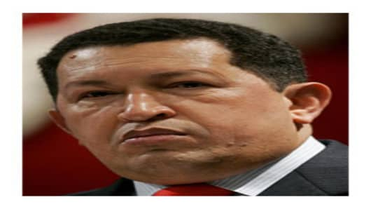 Pres. Hugo Chavez of Venezuela