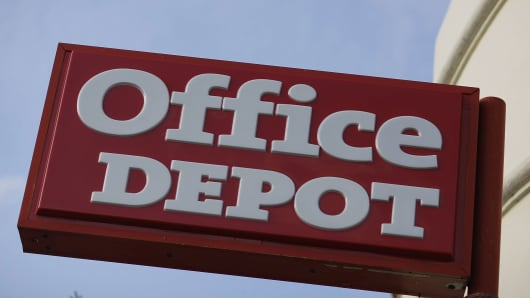 Office Depot shares jump 12% after earnings beat