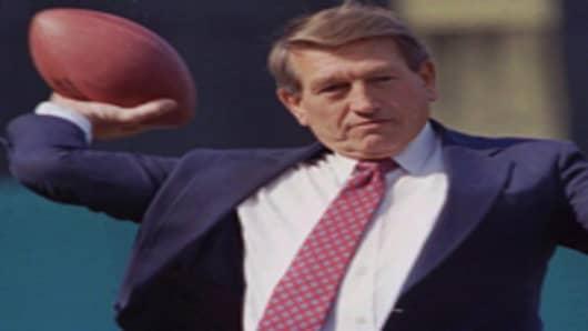 Johnny Unitas, former Baltimore Colts quarterback
