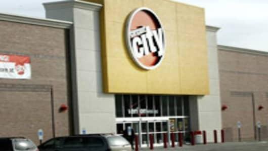 A Circuit City store in Richmond, Va.