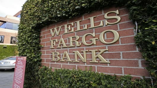 A Wells Fargo Bank in Palo Alto, California.