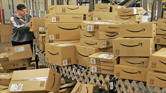 Amazon.com's fulfillment center in Fernley, Nevada.