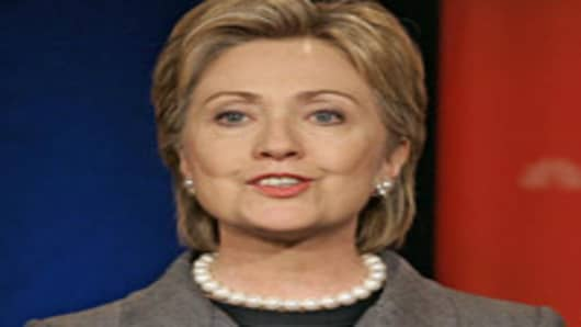 Secretary of State Hillary Rodham Clinton (AP Photo/J. Scott Applewhite)