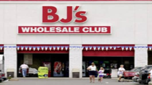 A BJ's Wholesale Club in Stoneham, Massachusetts.