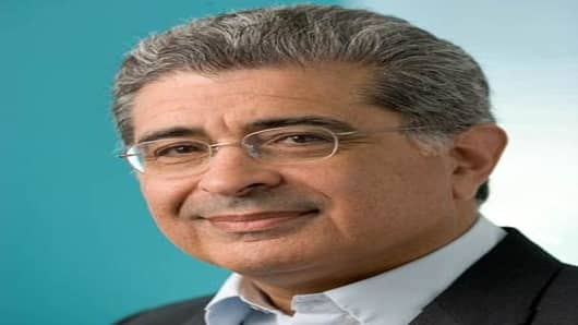 Yahoo!'s Chairman and Chief Executive Officer Terry Semel.