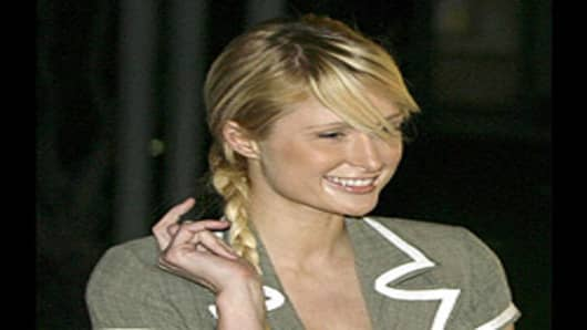 Paris Hilton released from Lynwood, California jailhouse.