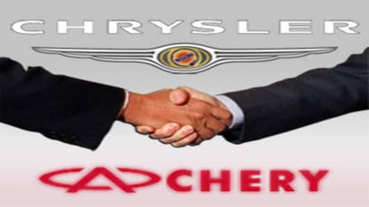 Chrysler and Chery