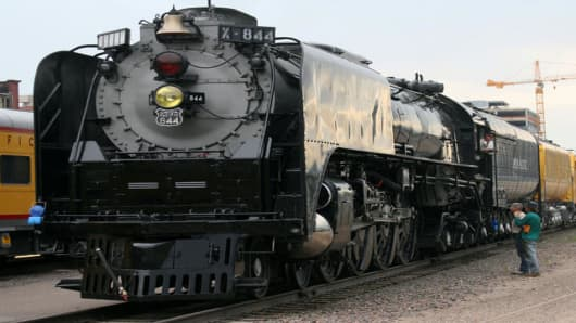 A Union Pacific steam.