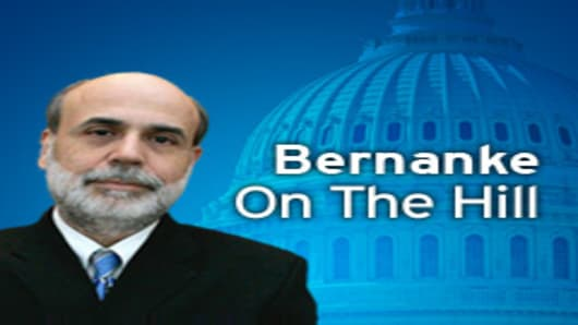 Bernanke On the Hill
