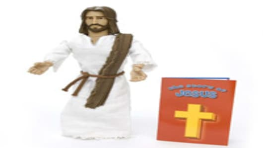 Talking Jesus Action Figure