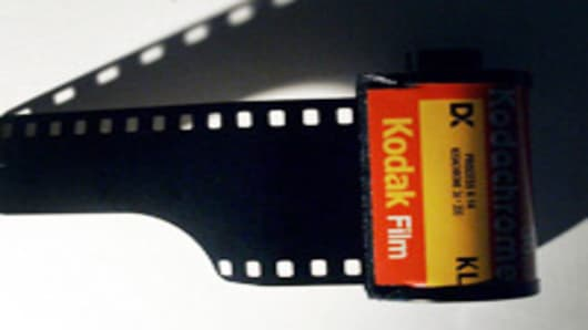 A roll of Kodak film is seen in Portland, Ore., Tuesday, Oct. 31, 2006. Eastman Kodak Co., scrambling to squeeze bigger profits from digital photography, posted a loss of $37 million in the third quarter Tuesday, its eighth quarterly loss in a row. (AP Photo/Rick Bowmer)