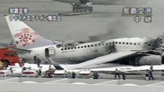 China Airline Fire