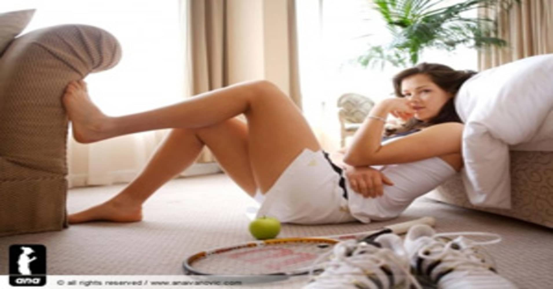 Ana Ivanovic Feet ana ivanovic: you're my favorite (beautiful) athlete