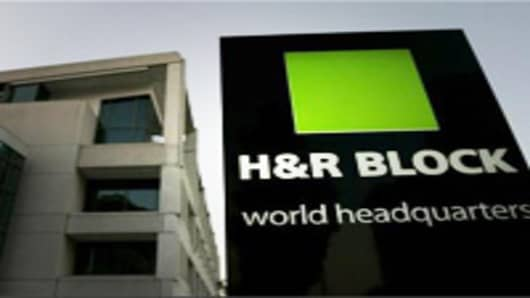 H&R Block's world headquarters in Kansas City, Missouri.