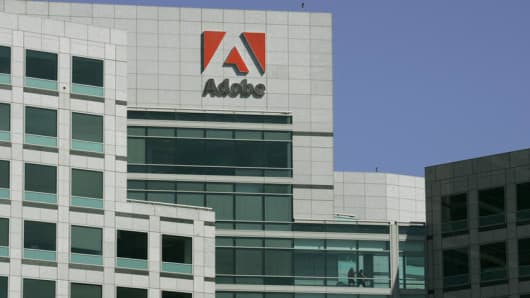 Adobe's headquarters in San Jose, California.